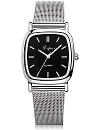 FCGV Reloj de Cuarzo Negocio Reloj de Cuarzo Reloj Moda Relojes precisos  duraderos - Negro 8d1b38d29d33