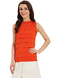 Miss Chase Women's Pleated Top