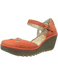 5514bfab2c6fae Amazon.co.uk  Orange - Sandals   Women s Shoes  Shoes   Bags