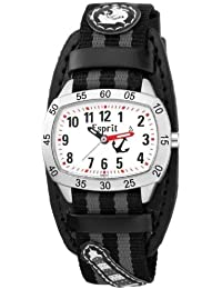 Esprit - ES103474001 - Sail Away - Montre Garçon - Quartz Analogique - Cadran Blanc - Bracelet Tissu Multicolore