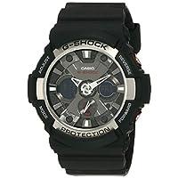 Casio Sport Analog-Digital Display Quartz Watch For Men Ga-200-1A, Black