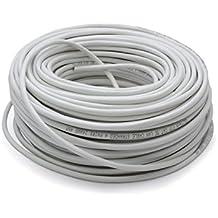 Vultech SC13602-100 100m Cat6 F/UTP (FTP) Gris - Cable de red (100 m, Cat6, F/UTP (FTP), Gris)