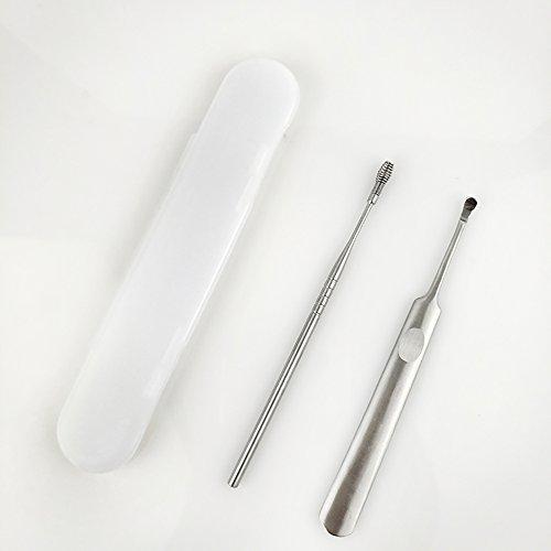 *Medizinischer Ohrenreiniger Ohrenschmalz Entferner inkl. Aufbewahrungskiste aus rostfreien Edelstahl*