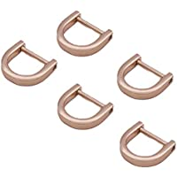 SUPVOX 10 STÜCK D Ring Schraube Schäkel Hufeisen U Form D Ring DIY Geldbörse Schlüsselbund Clips