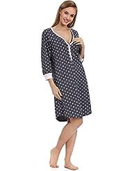 Italian Fashion IF Lactancia Camisón para mujer Nora 0111