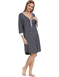 Italian Fashion IF Women's Nursing Nightdress Nora 0111