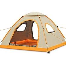 Artículos educativos Tienda de Viaje al Aire Libre 3-4 Personas Camping Rain Tienda de campaña automática Cinturón portátil 210X210X130Cm
