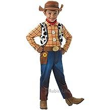 Woody Deluxe - Toy Story - Childrens Disfraz - Pequeño - 104cm