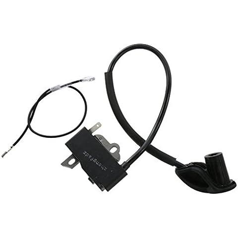 Cables de Encendido Módulo de Bobina Césped para STIHL FS120/FS200/FS250/FS300/FS350