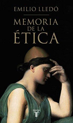 Memoria De La Ética. 2015 (PENSAMIENTO)