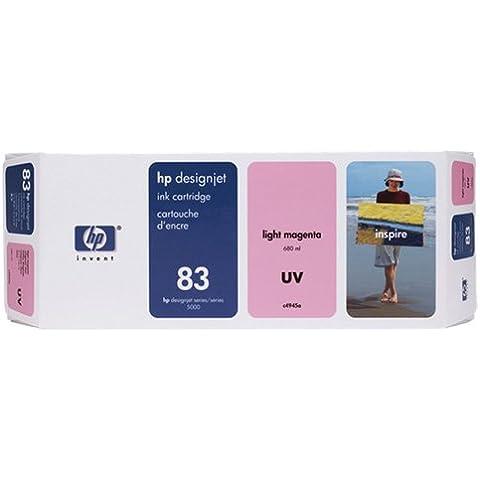 HP C4945A cartucho de tinta - Cartucho de tinta para impresoras (Magenta claro, 680 ml, HP Designjet 5500 UV, 5500ps UV, 5000 UV, 5000ps, -40 - 60 °C, 5 - 40 °C, 950g)
