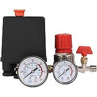 Regulador Válvula Compresor de aire pequeño Interruptor de presión Regulador de la válvula de control con manómetros