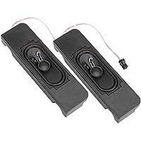 Mini altavoz de audio portátil con doble bocina magnética interna, 40 mm Altavoz de línea con graves transparentes, adecuado para todo tipo de máquinas publicitarias/máquinas electroacústicas LCD/moni