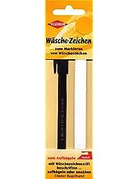 Kleiber Kit étiquettes nom plastique/ Tissu thermocollantes