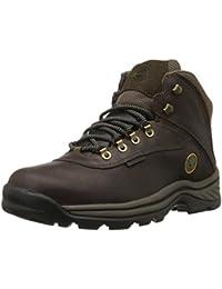 Timberland WHITE LEDGE WP MID GAUCHO 12135 - Zapatillas de deporte de cuero nobuck para hombre, color marrón, talla 43