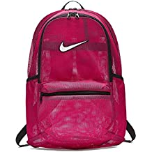 Nike Brasilia Mesh Mochila, Unisex Adulto, Rosa (Rush Pink/Black/White