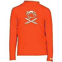 iQ UV 300, Camiseta de Manga Larga Infantil, Naranja (Siren), 116