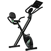 Cecotec 07016 XBike Pro - Bicicleta plegable magnética (Pulsómetro, Pantalla LCD, Resistencia variable