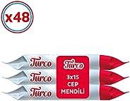Baby Turco Cep Mendili 48'li Paket, 2160 Ya