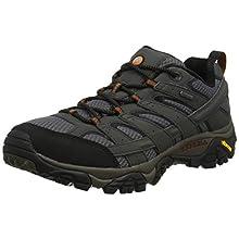 Merrell Women's Moab 2 Gore-tex Low Rise Hiking Shoes, Grey (Beluga), 8.5 UK (42.5 EU)