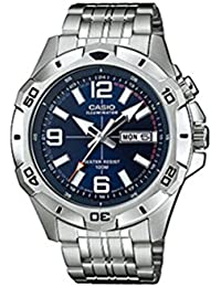 Casio Collection – Herren-Armbanduhr mit Analog-Display und Edelstahlarmband – MTD-1082D-2AVEF