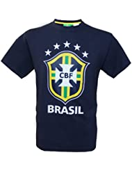 T-shirt Seleçao Brasil - Collection officielle Equipe du BRESIL de football - Taille adulte homme
