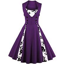 Amazon.it  vestiti anni 50 - Viola 9e3ba689110