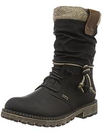Rieker Damen Y6753 Kurzschaft Stiefel