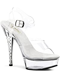 PleaserUSA Gogo-Platform High Heels Diamond-608