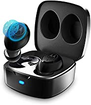 Motorola Verve Buds 100, True Wireless Bluetooth Waterproof Earbuds with 12 Hours Battery, Mic, Mono Mode and