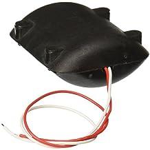 Sourcingmap a12101600ux0226 - Caparazón negro dc 12v motor de vibración 6200 rpm durante cojín de masaje