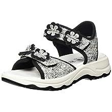 Primigi Girls Sandalo Bambina Open Toe Sandals, Silver (Argento 5389611), 6.5 UK