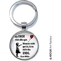 Ende Alles Gut - ABOUKI | handgefertigter Schlüsselanhänger