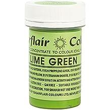 Sugarflair Lebensmittelfarbe Spectral Konzentrierte Paste Farbe–Lime Grün