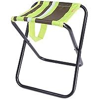 DYFYMX Taburete plegable para exteriores, silla de pesca, portátil, taburete plegable, mini trompeta gruesa Mazar, muebles de silla