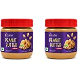 Rostaa Peanut Butter Crunchy 340gm (Combo of 2)