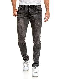 BLZ jeans - Jean noir délavage important