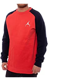 Nike M J Jumpman Fleece Crew Camiseta 5ae5933a97032