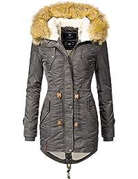 a2d187e6dd2f Navahoo Damen Winter Mantel Winterparka La Viva (Vegan Hergestellt) 11  Farben XS-XXL