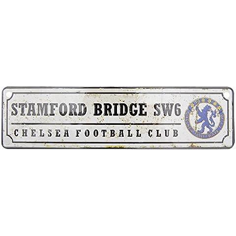 Chelsea Fc Retro muestra del Metal Stamford Bridge rodillera Sw6