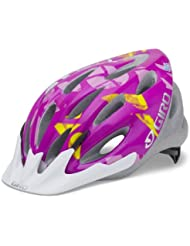 Giro Flume Youth Bike Helm, magenta
