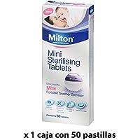 Pastillas Esterilizadoras Mini Milton, 50 unidades - Pastillas para esterilizar y desinfectar la Copa Menstrual Sileu - Ideales para usar con el Esterilizador Plegable Sileu