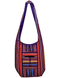 Gaurapakhi Rajasthani Collection And Ethnic Cotton Handmade Handbag With Multicolor For Women's - B07D7HYLYD