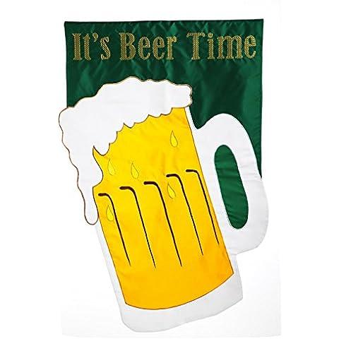 Regular applique it's time Bandiera birra, cm X 71,12 1,27 cm x 111,76 cm - Irish Ale