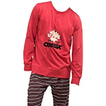 Pijama Manga Larga OBELIX Hombre GISELA