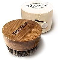 Barba Olio Pennello per uomini–Morbida Setole Di Cinghiale Kit da barba My Best