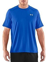 Under Armour Men's Ua Tech Ss Tee-Fsh//Sty Short-Sleeve T-Shirt