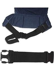 MEIMEI®Baby Sling taburete negro elástico cinturón . black