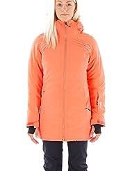 Brunotti Chaqueta de esquí snowboard Chaqueta Chaqueta de nieve jascoli Rojo transpirable, color rojo, tamaño M