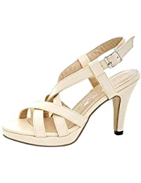 Amazon.es  sandalia cross - 35   Zapatos para mujer   Zapatos ... 083217819cf3
